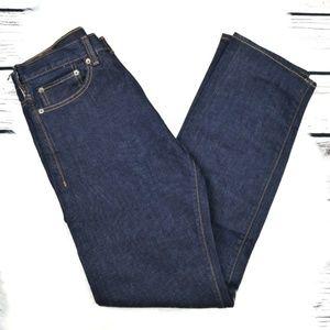NWT Dockers Dark Wash Straight Leg Jeans 30 x 32